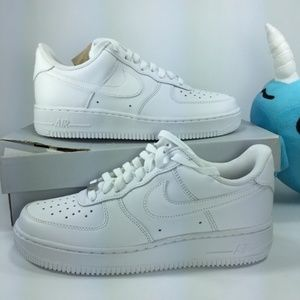 NIB! Nike Air Force 1 '07 'White' Sz 7.5